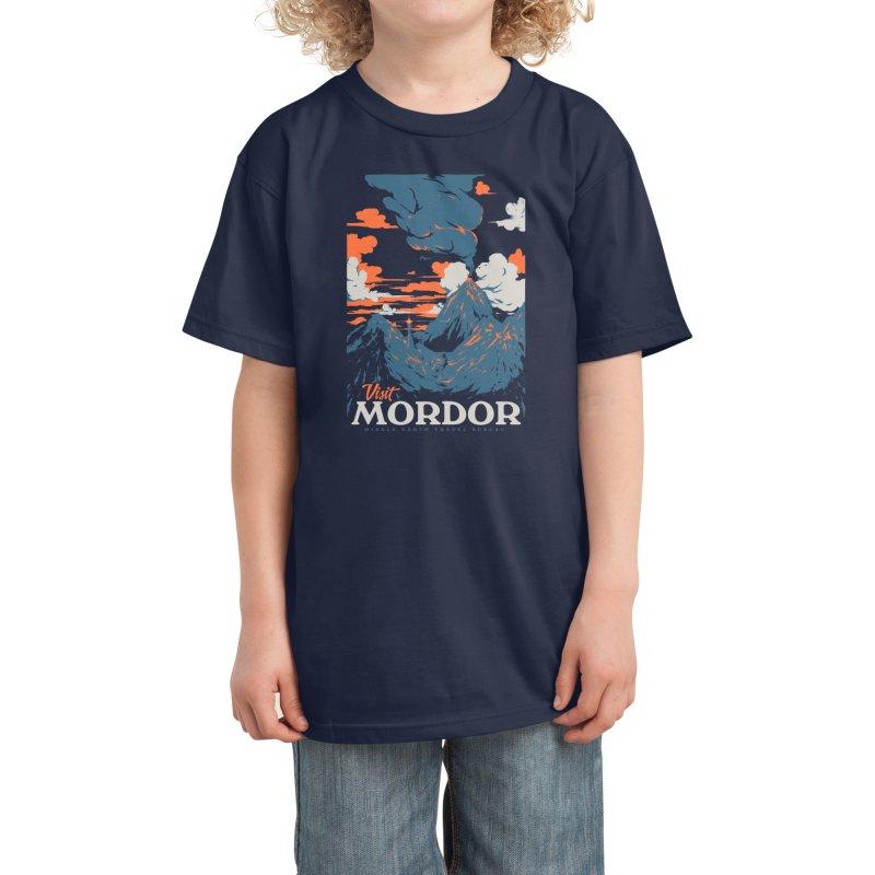 Visit Mordor Kids T-Shirt by Threadless Artist Shop