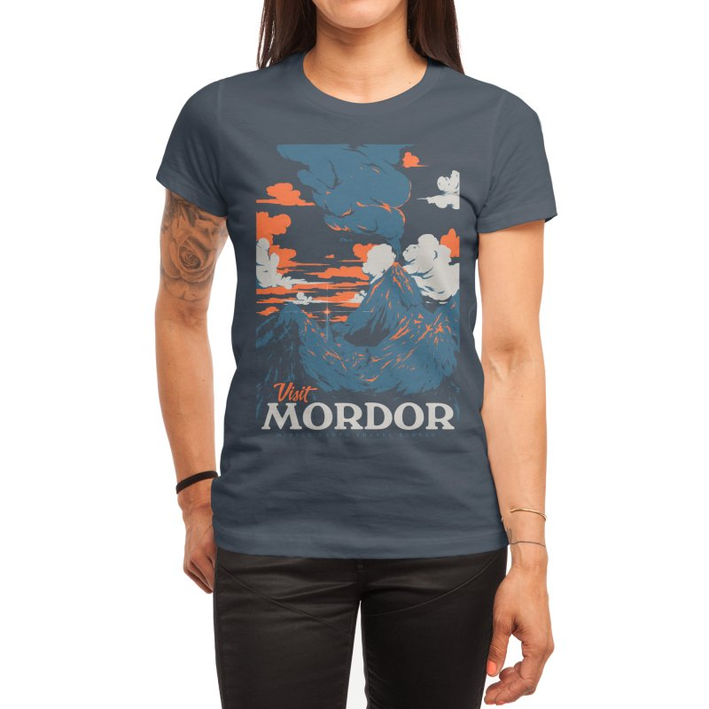 Visit Mordor Women's T-Shirt by Threadless Artist Shop