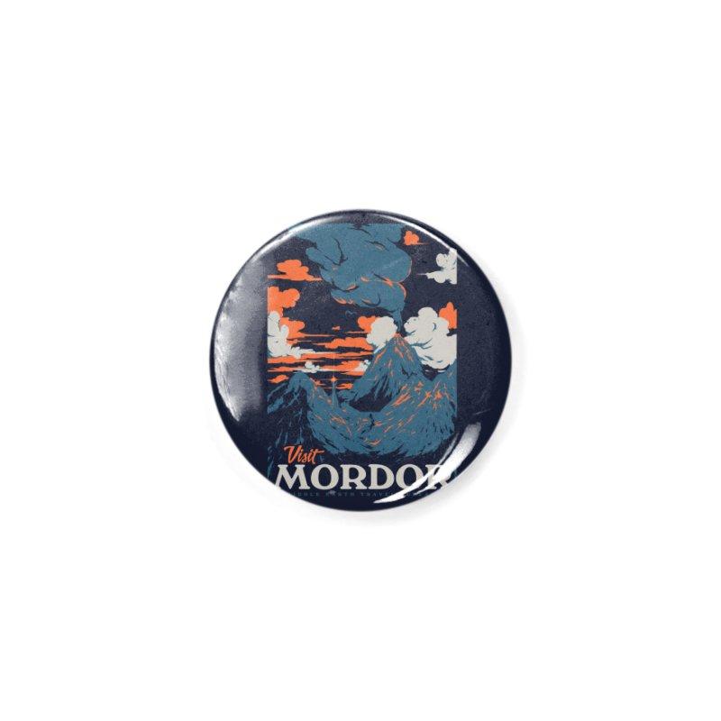 Visit Mordor Accessories Button by Threadless Artist Shop