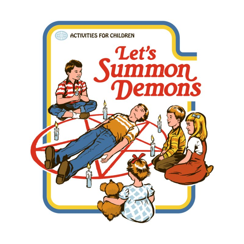 Let's Summon Demons Accessories Notebook by Threadless Artist Shop