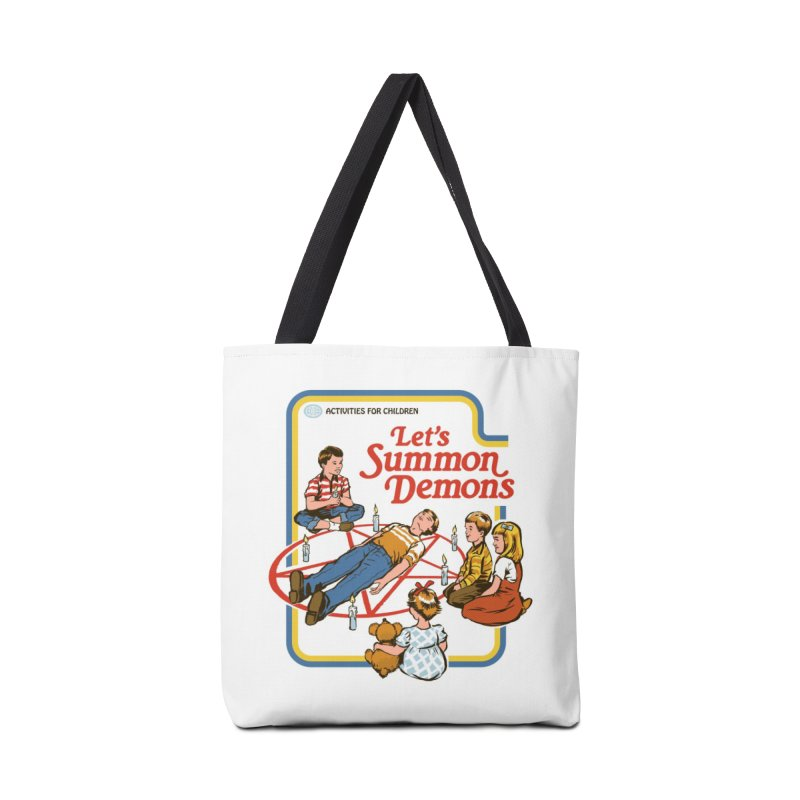 Let's Summon Demons Accessories Bag by Threadless Artist Shop