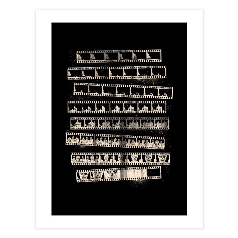 Z Movie Home Fine Art Print by Threadless Artist Shop