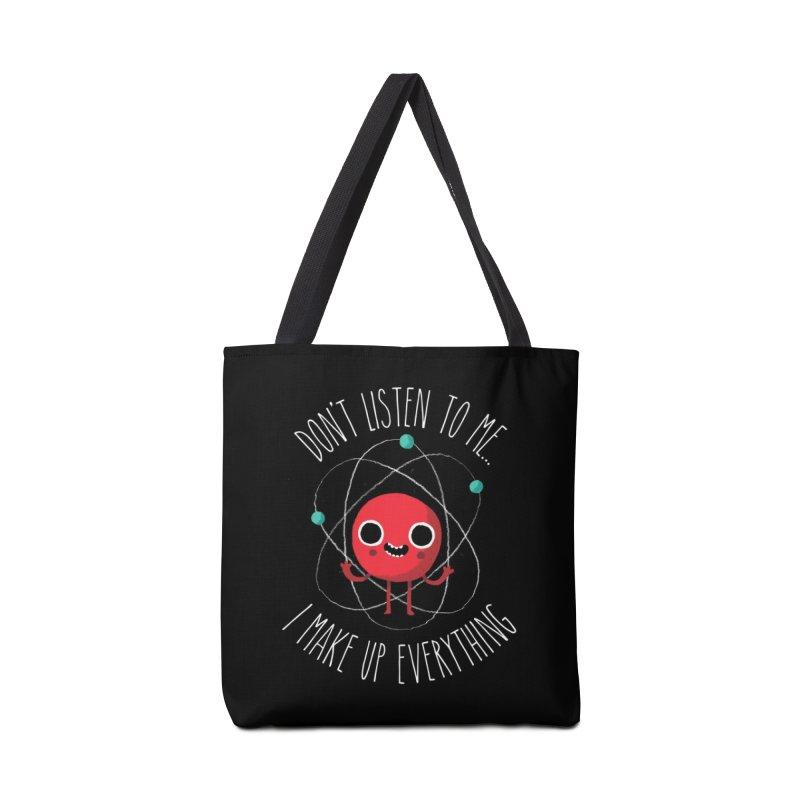 Never Trust An Atom Accessories Bag by Threadless Artist Shop