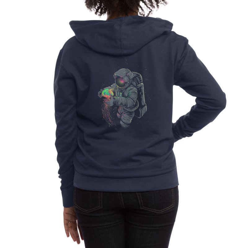 Jellyspace Women's Zip-Up Hoody by Threadless Artist Shop