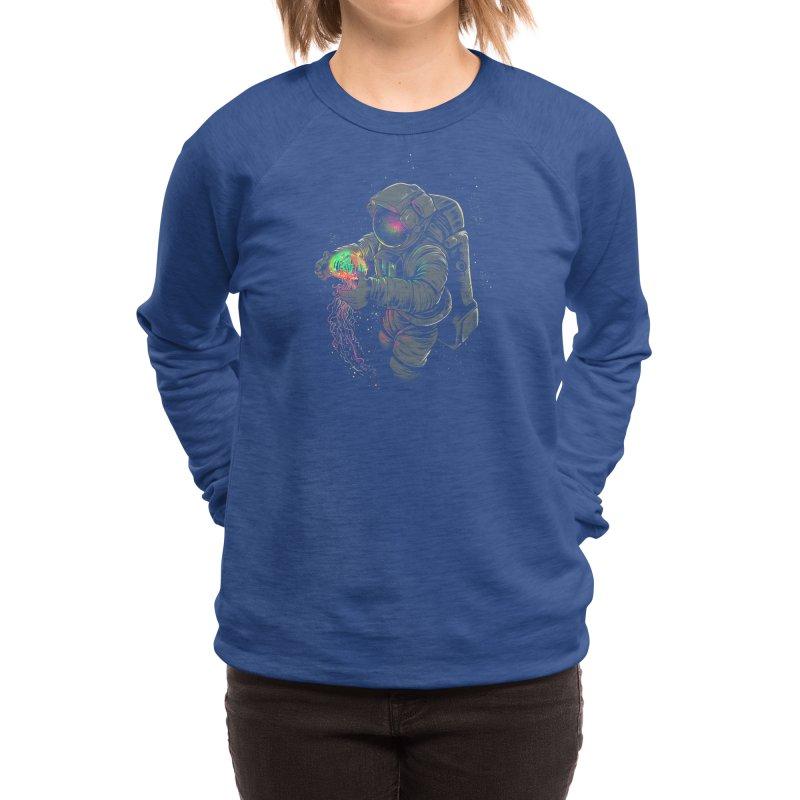 Jellyspace Women's Sweatshirt by Threadless Artist Shop