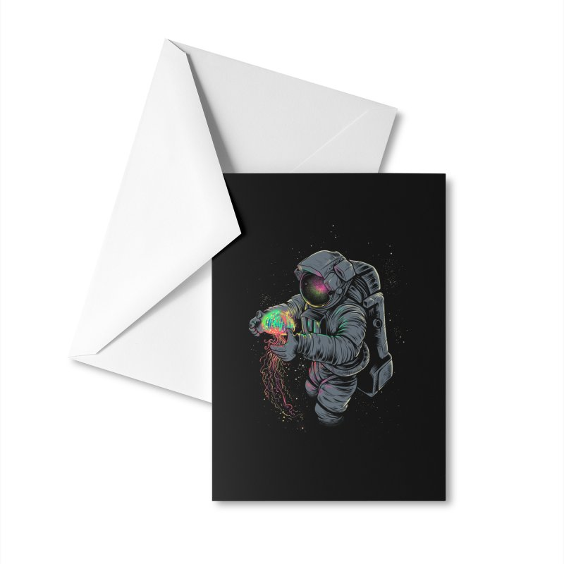 Jellyspace Accessories Greeting Card by Threadless Artist Shop