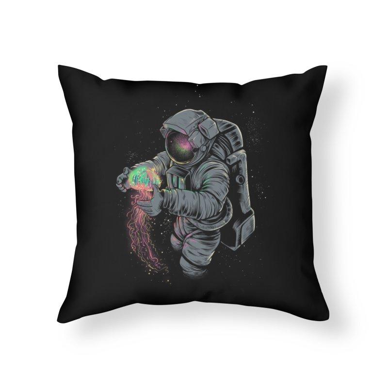 Jellyspace Home Throw Pillow by Threadless Artist Shop