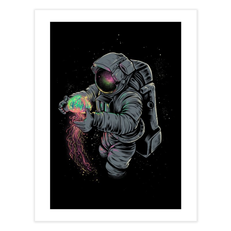 Jellyspace Home Fine Art Print by Threadless Artist Shop