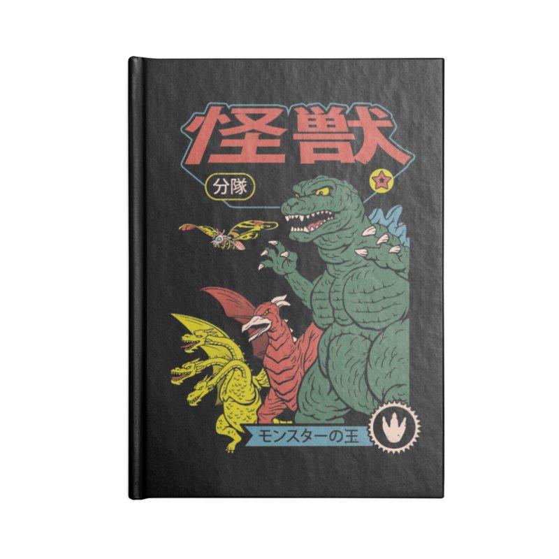 Kaiju Sentai Accessories Notebook by Threadless Artist Shop