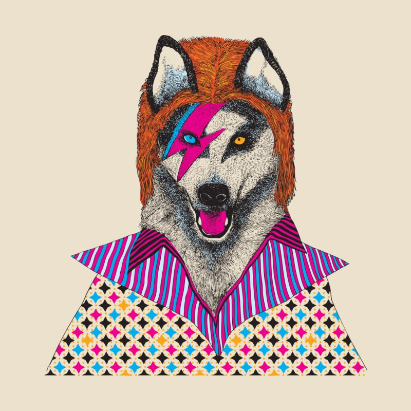 Ziggy Stardog Men's T-Shirt by Threadless Artist Shop