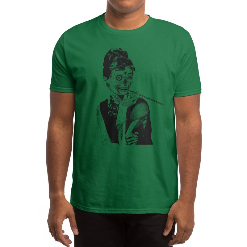 Zombie at Tiffany's Men's T-Shirt by Threadless Artist Shop