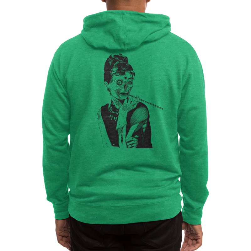 Zombie at Tiffany's Men's Zip-Up Hoody by Threadless Artist Shop