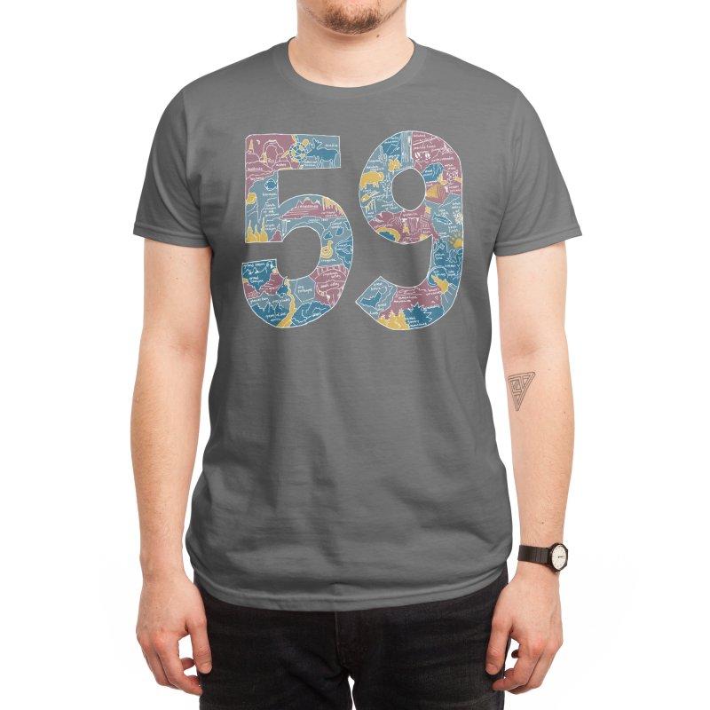 59 National Parks Men's T-Shirt by Threadless Artist Shop