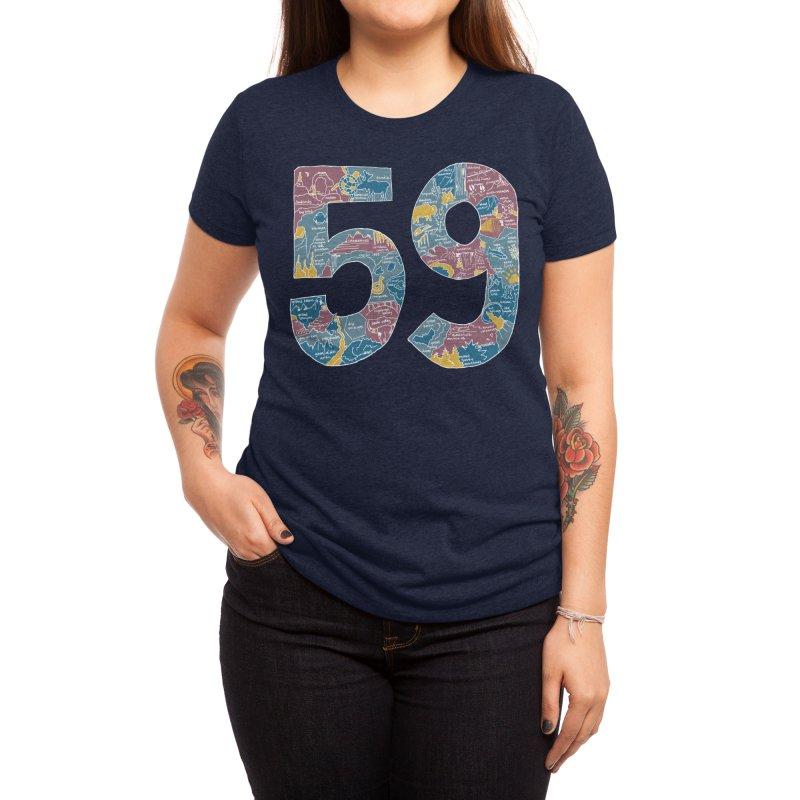 59 National Parks Women's T-Shirt by Threadless Artist Shop