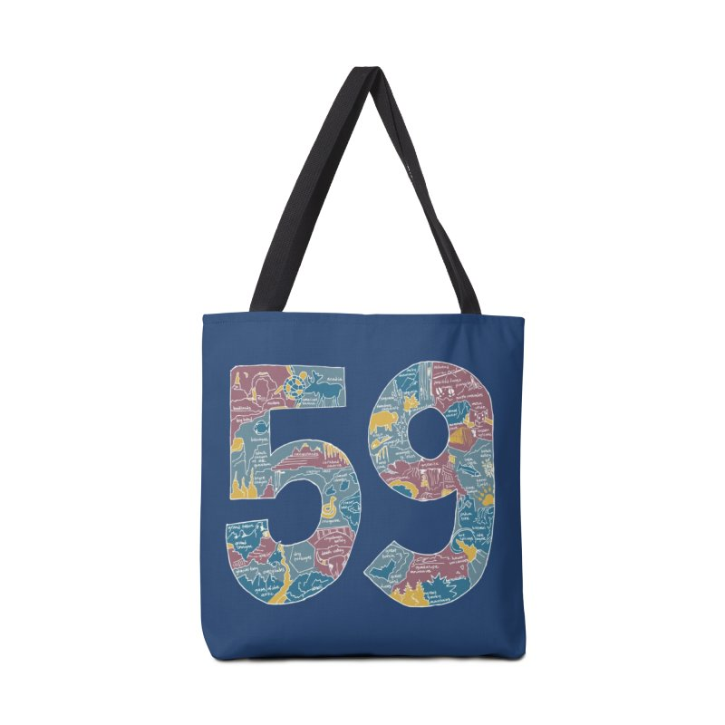 59 National Parks Accessories Bag by Threadless Artist Shop