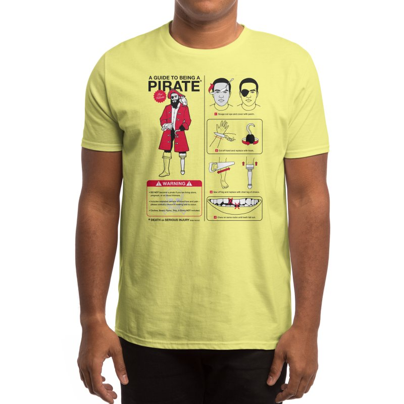 A Guide to Being a Pirate Men's T-Shirt by Threadless Artist Shop