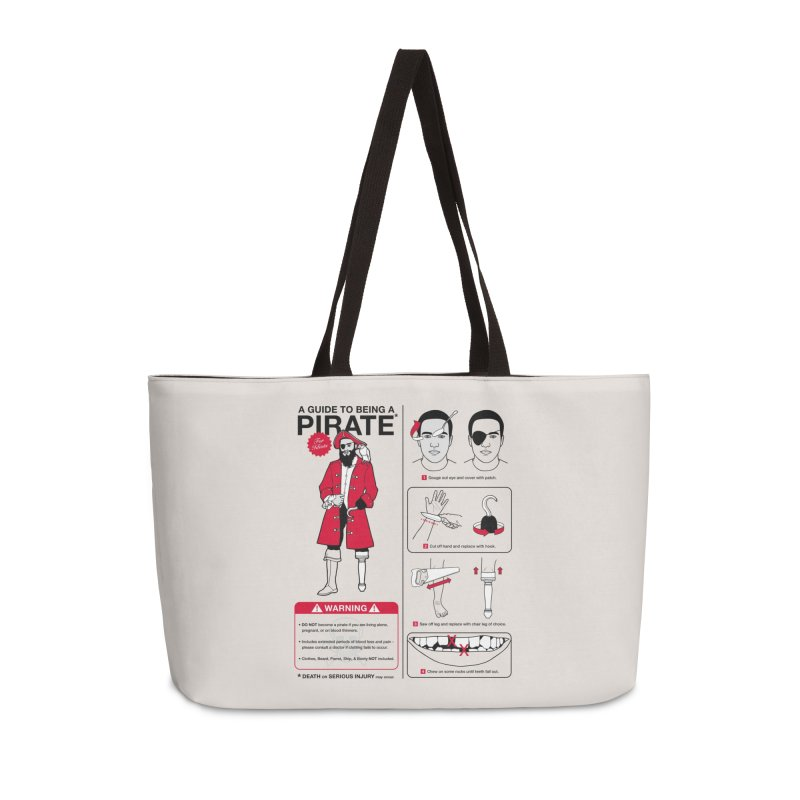 A Guide to Being a Pirate Accessories Bag by Threadless Artist Shop