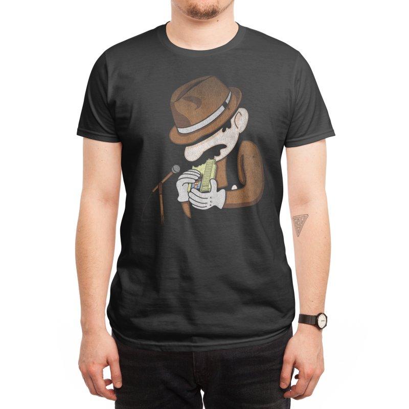 8-Bit Blues Men's T-Shirt by Threadless Artist Shop