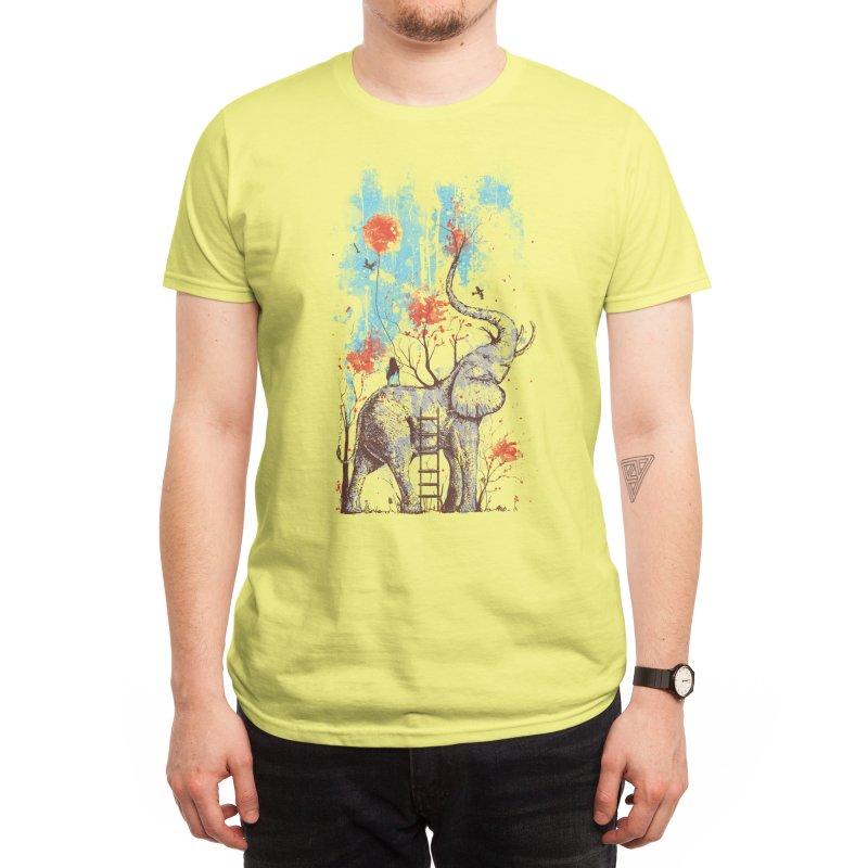A Happy Place Men's T-Shirt by Threadless Artist Shop