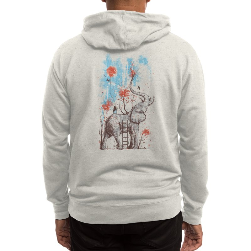 A Happy Place Men's Zip-Up Hoody by Threadless Artist Shop