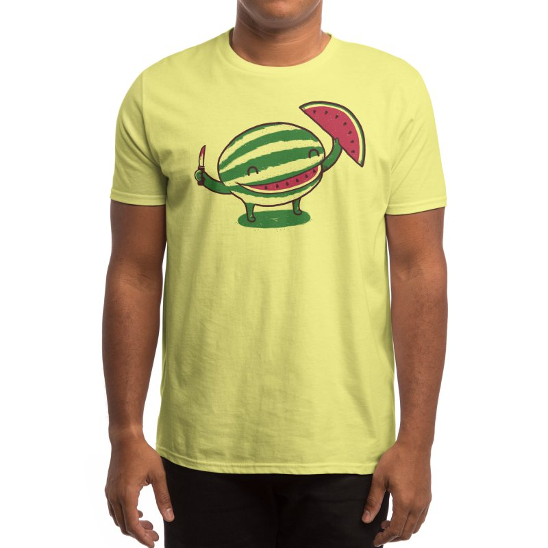 A Happy Slice of Life Men's T-Shirt by Threadless Artist Shop