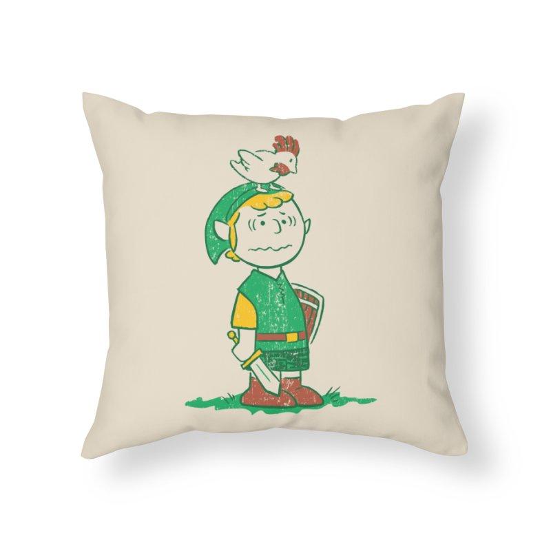 A Hero Named... Home Throw Pillow by Threadless Artist Shop
