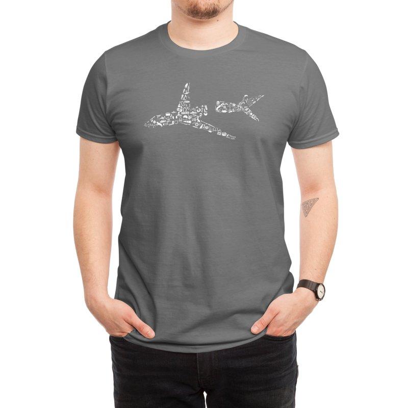 108 Objects from Flight 815 Men's T-Shirt by Threadless Artist Shop
