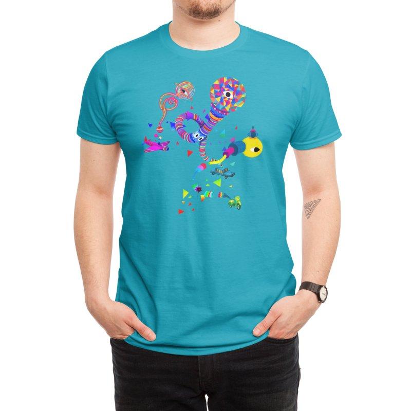 3 Eyes, 3 Vehicles Men's T-Shirt by Threadless Artist Shop
