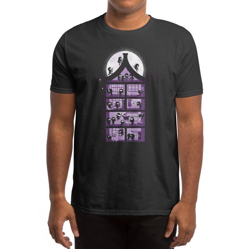 A House Full of Ninjas Men's T-Shirt by Threadless Artist Shop