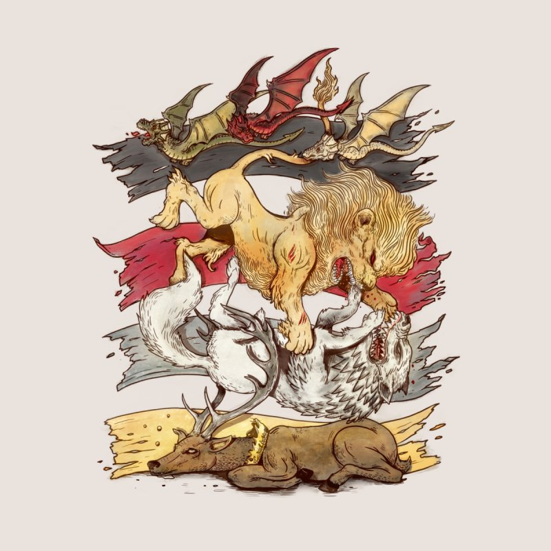 A King in Every Corner Men's T-Shirt by Threadless Artist Shop