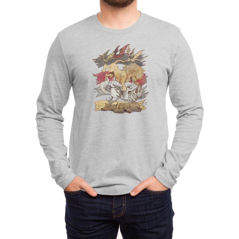 A King in Every Corner Men's Longsleeve T-Shirt by Threadless Artist Shop
