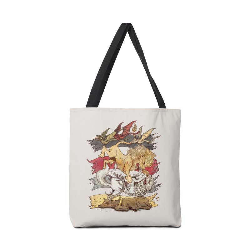 A King in Every Corner Accessories Bag by Threadless Artist Shop