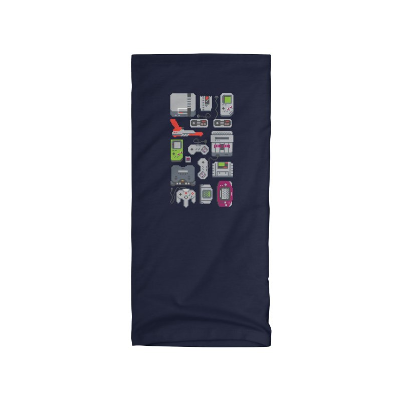 A Pixel of My Childhood Accessories Neck Gaiter by Threadless Artist Shop