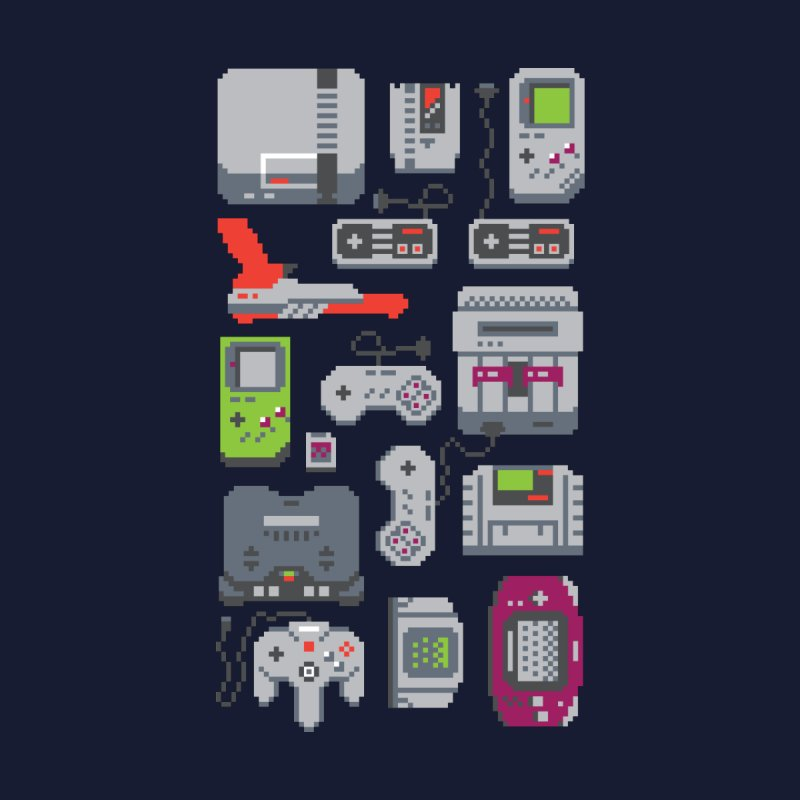 A Pixel of My Childhood Women's T-Shirt by Threadless Artist Shop