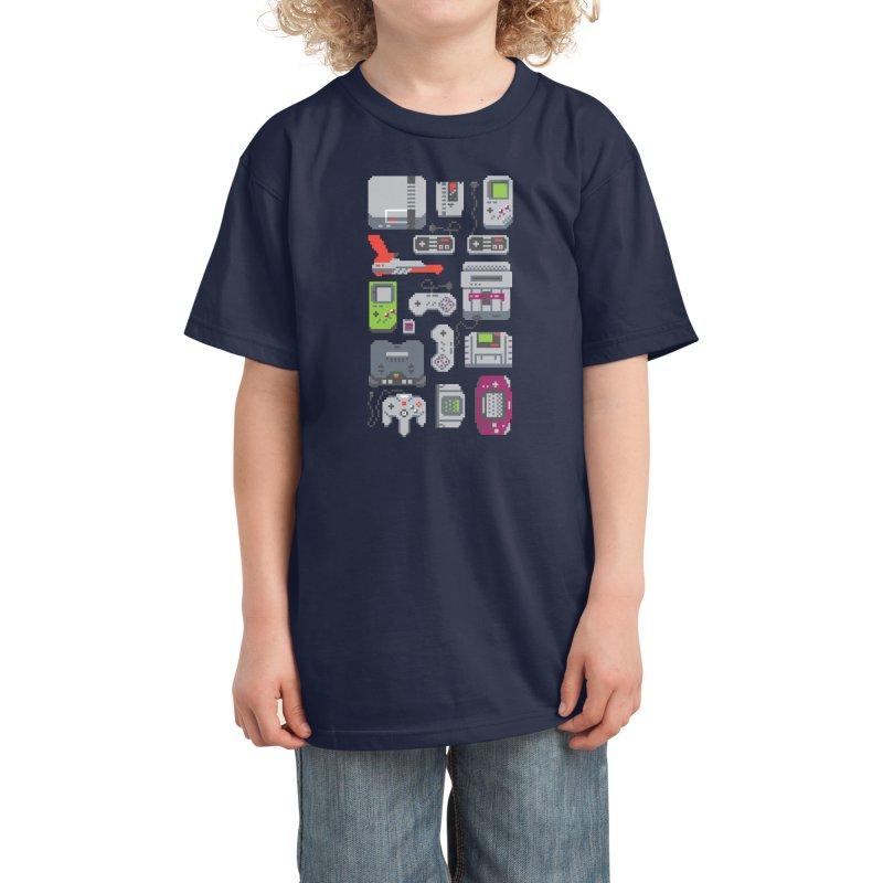 A Pixel of My Childhood Kids T-Shirt by Threadless Artist Shop