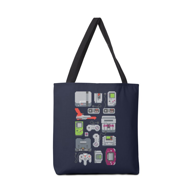 A Pixel of My Childhood Accessories Bag by Threadless Artist Shop