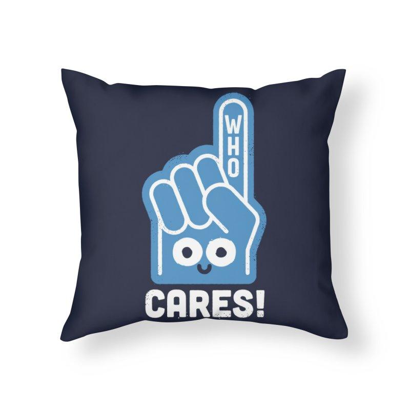 A Pointed Critique Home Throw Pillow by Threadless Artist Shop