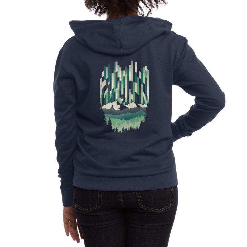 A Sheer Winter Dawn Women's Zip-Up Hoody by Threadless Artist Shop