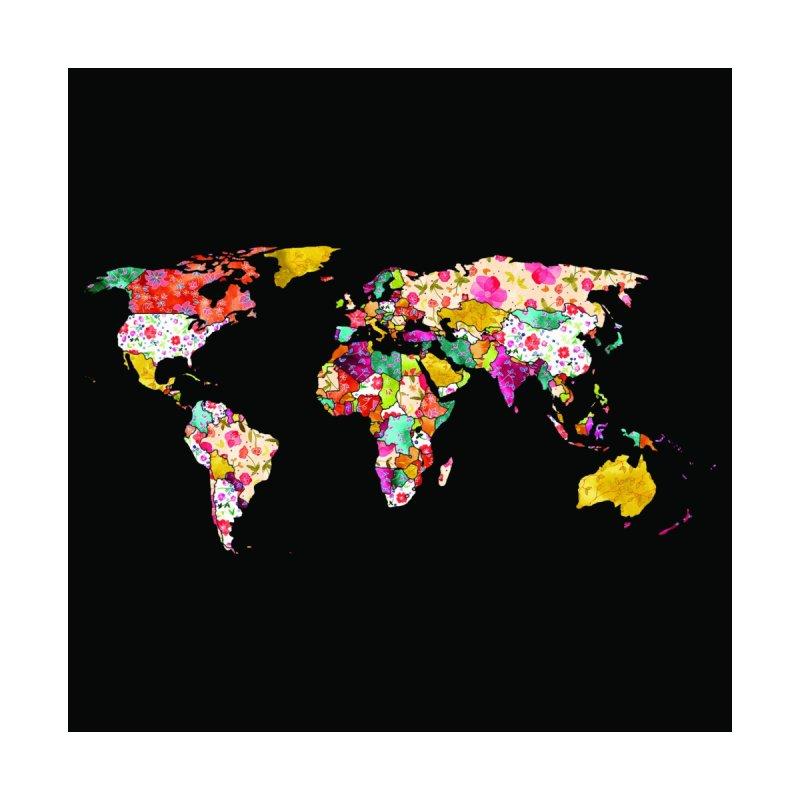 World Map Black Variant Women's Shoes by Threadless Artist Shop