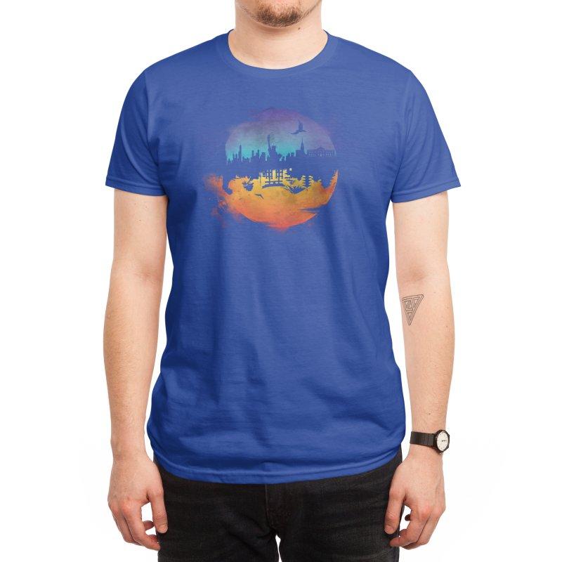 Against the Moon Men's T-Shirt by Threadless Artist Shop
