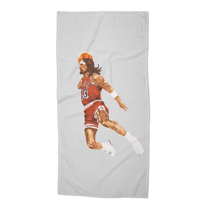 Air Jesus Accessories Beach Towel by Threadless Artist Shop