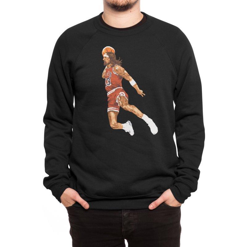 Air Jesus Men's Sweatshirt by Threadless Artist Shop