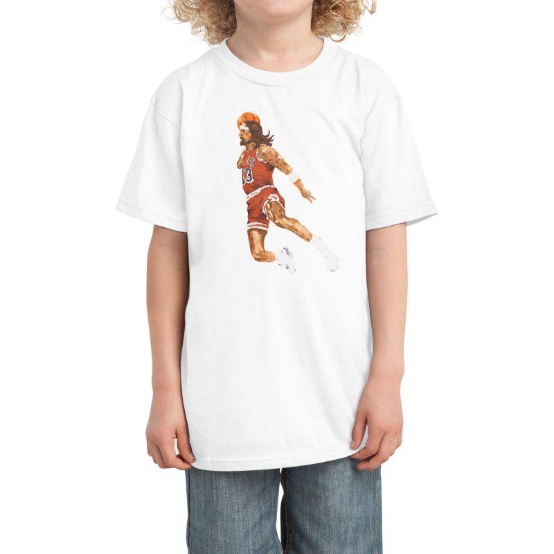 Air Jesus Kids T-Shirt by Threadless Artist Shop