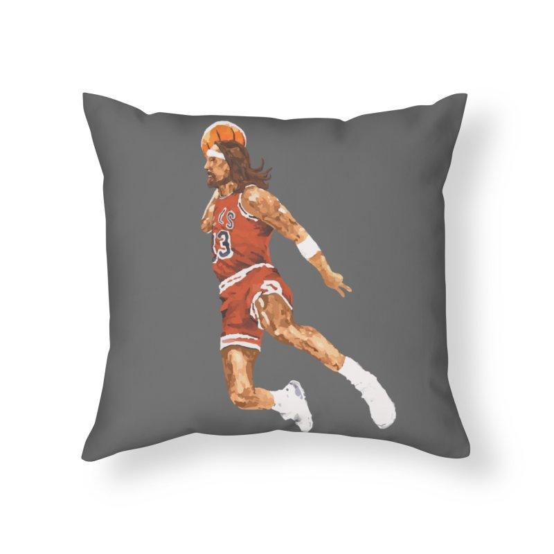 Air Jesus Home Throw Pillow by Threadless Artist Shop