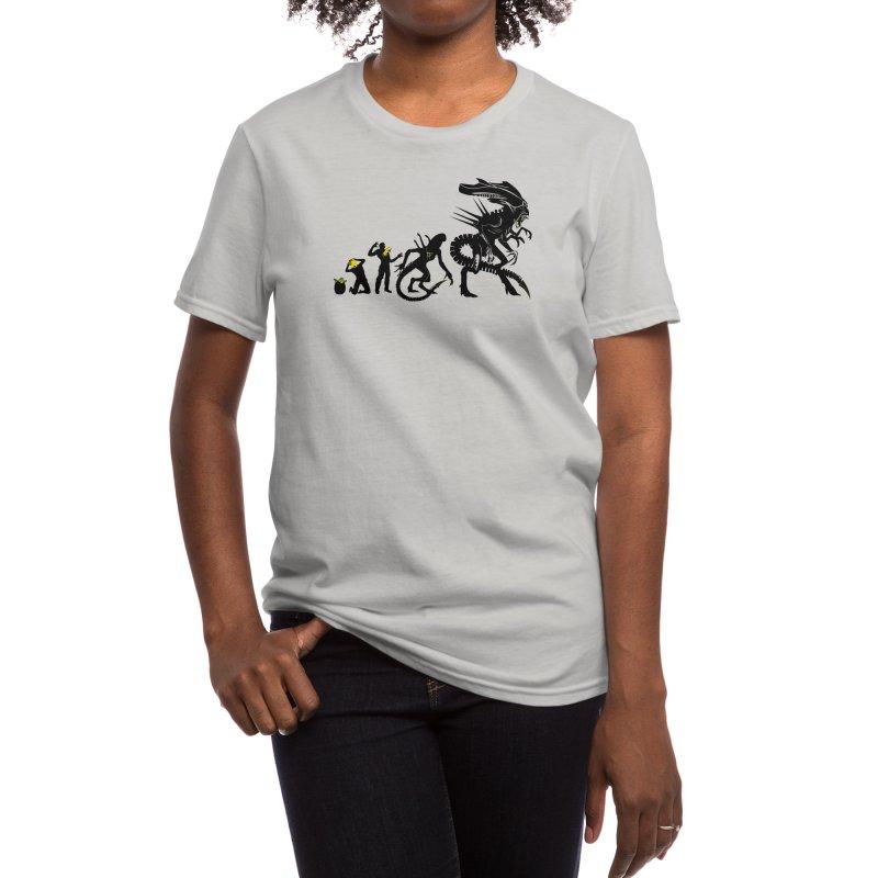 Alien Evolution Women's T-Shirt by Threadless Artist Shop