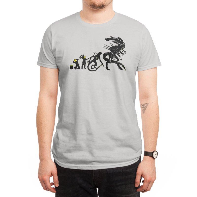 Alien Evolution Men's T-Shirt by Threadless Artist Shop