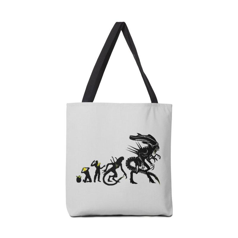 Alien Evolution Accessories Bag by Threadless Artist Shop