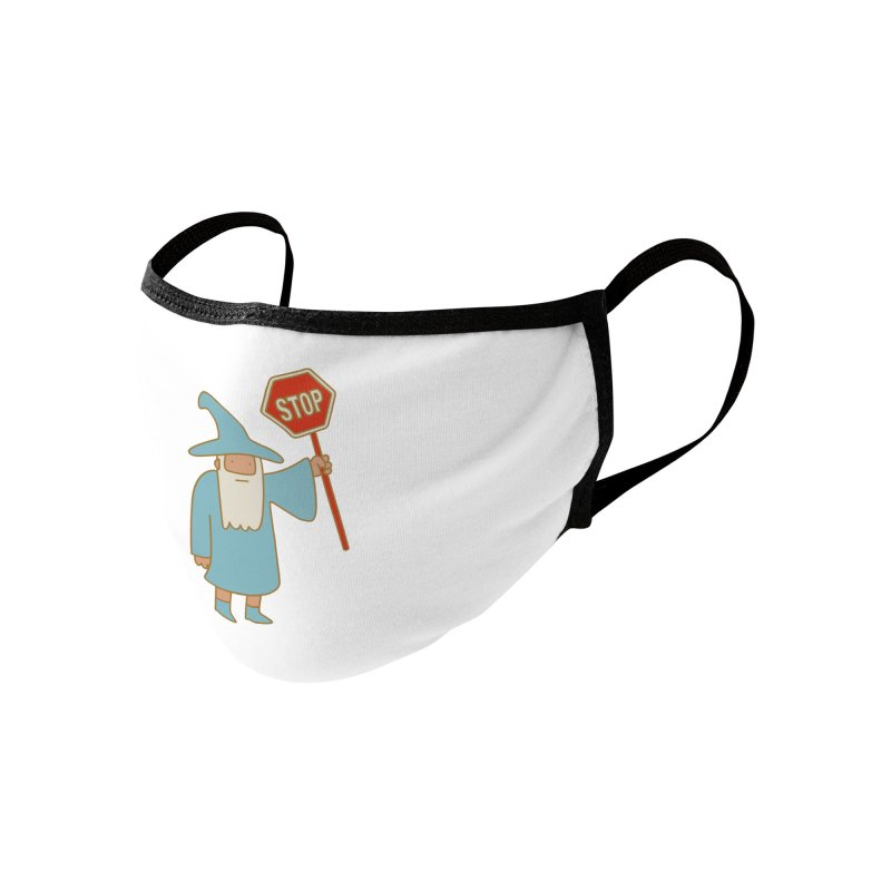 All Shall Stop Accessories Face Mask by Threadless Artist Shop