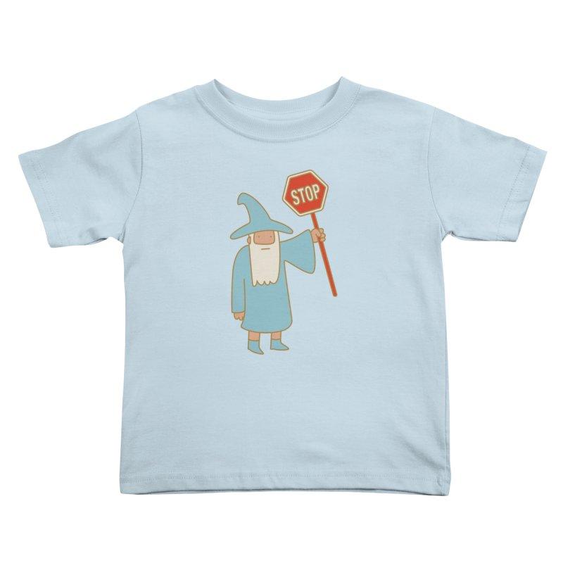 All Shall Stop Kids Toddler T-Shirt by Threadless Artist Shop