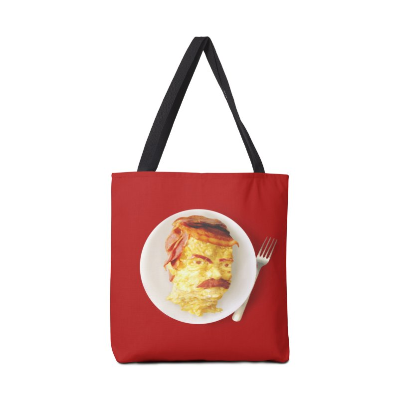 All the Bacon and Eggs Accessories Bag by Threadless Artist Shop